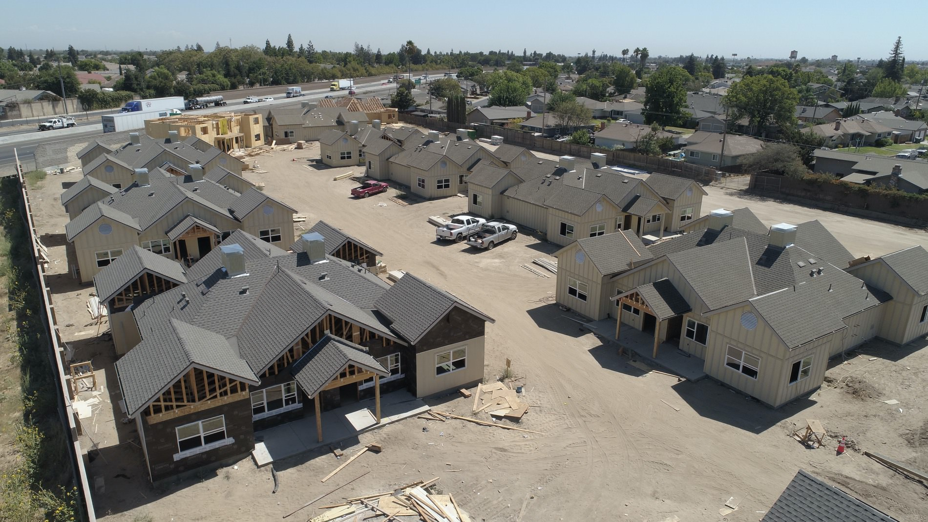 Cottage View Apartments in Manteca. Housing Authority County of San Joaquin.